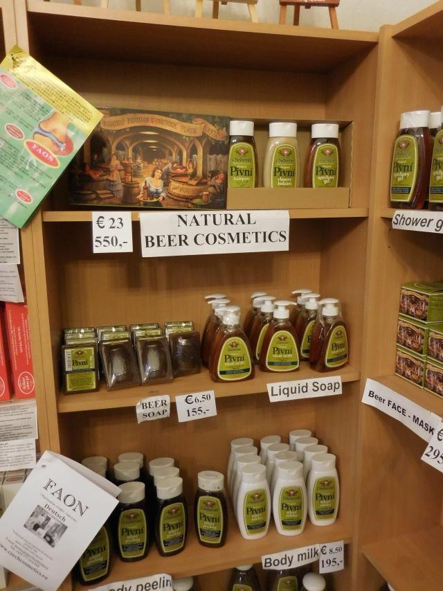 CK beer cosmetics