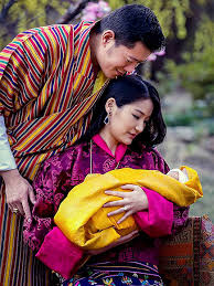 Bhutan royal couple