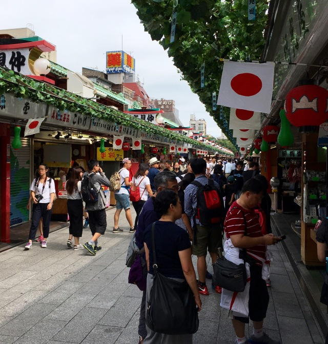 Asakusa shopping