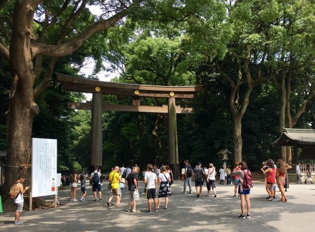 Meiji Jinju entrance