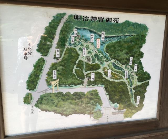 MJ Inner Garden map